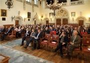 10 mei 2014: een goed gevulde Provincieraadszaal voor de academische zitting t.g.v. 175 jaar Genootschap voor Geschiedenis