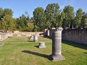 Koksijde: ruïnes van de Duinenabdij