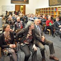 December 2012, jaarvergadering: het publiek