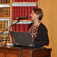 December 2012, jaarvergadering: lezing door prof. dr. Brigitte Meijns (K.U.Leuven)